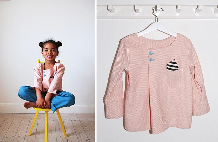 Att skrädda kläder till barnen behöver inte vara svårt eller ta lång tid. Vi blev inspirerade av en ny härlig sybok.Vi bjuder på mönster och beskrivning från boken Sy barnens första garderob.