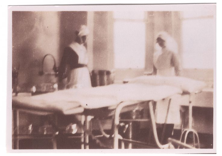 Operating Theatre at Warren Road Hospital, pre WWII.