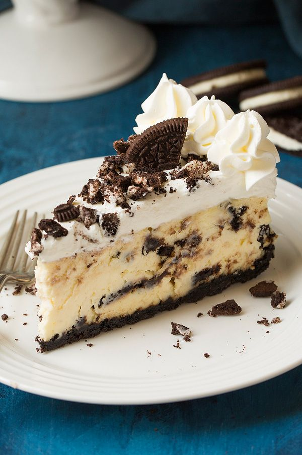 Cookies 'N Cream Cheesecake - Cooking Classy