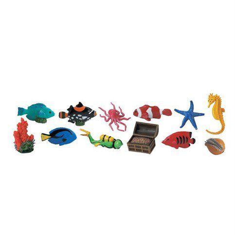 12 figurines récifs coralliens