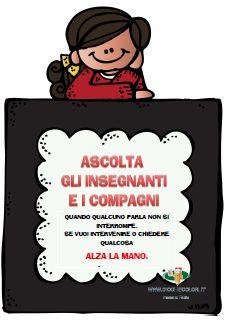 Schede didattiche del Maestro Fabio per la scuola primaria. Giochiecolori.it: LE REGOLE PER LA CLASSE: 13 CARTELLONI PER LA SCUOLA PRIMARIA.