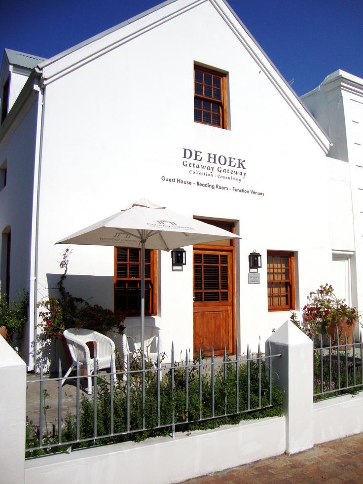 De Hoek Manor - the best in Stellenbosch