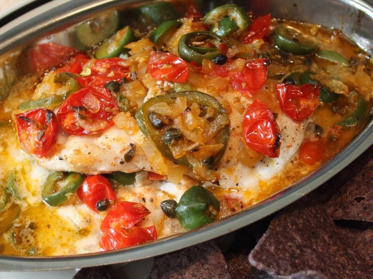 Veracruz-Style Red Snapper Recipe - Easy Baked Fish Veracruz