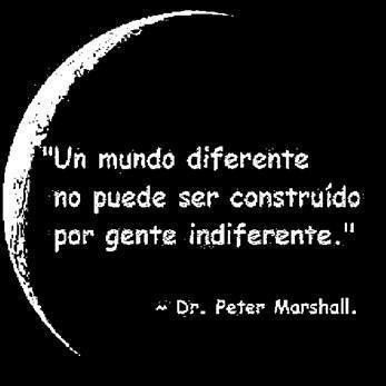 Necesitamos un mundo diferente