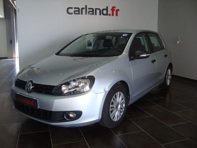 Annonce voiture occasion Carland Bourg en Bresse  http://www.carland.fr/nos-occasions/volkswagen-golf-vi-1-6-tdi-105-fap-trendline-bluemotion-ref-187/