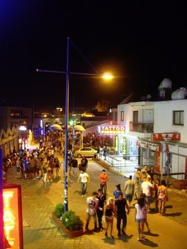 Ayia Napa by night