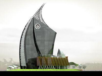 ARSIGRAF: Menara Phinisi Universitas Negeri Makasar (GPPA)