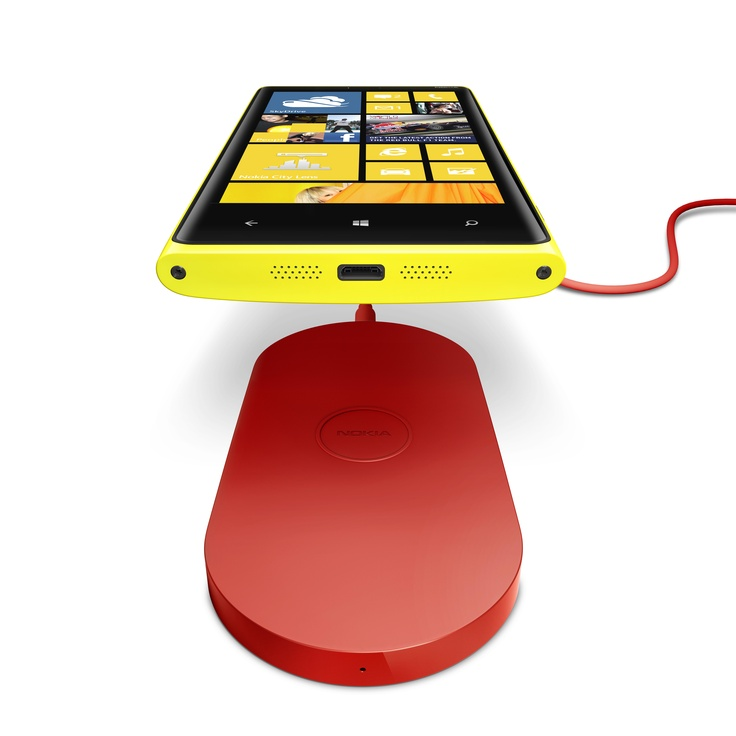 Charge your Nokia Lumia 920 without plugging it in on Nokia's wireless charging pad.