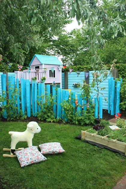 Stel je voor: Je hebt een grote tuin en kinderen. Hoe zorg je dan voor een kindvriendelijke tuin, zonder dat het een speeltuin wordt?