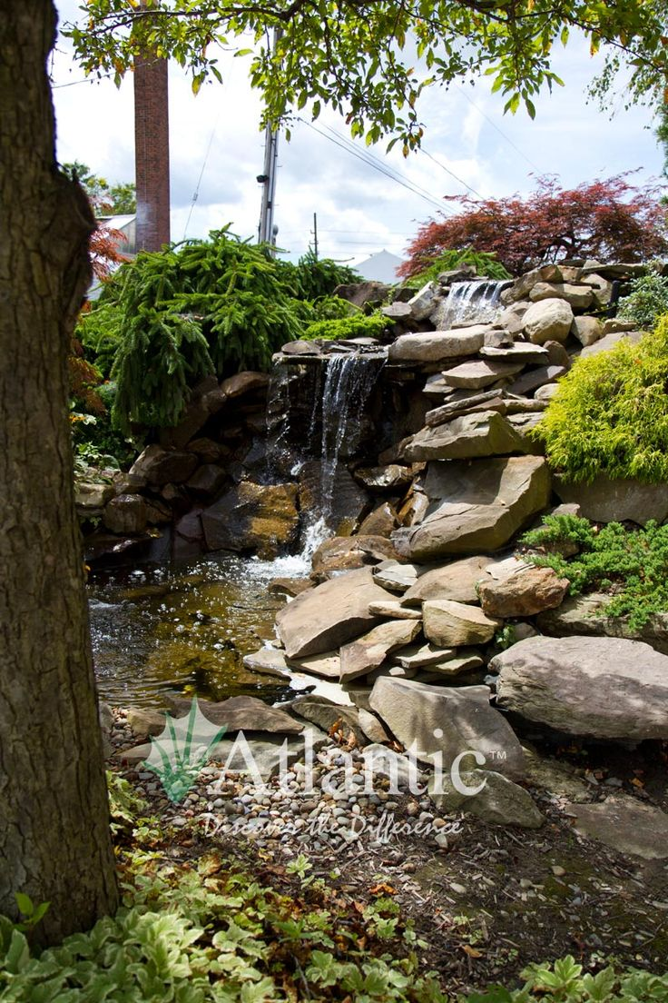 1000 images about water features on pinterest for Pond waterfall spillway ideas