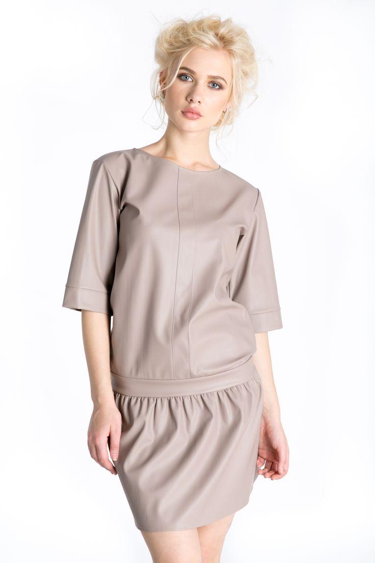 #leatherdress   http://www.bluzat.ro/produs/rochie-piele/