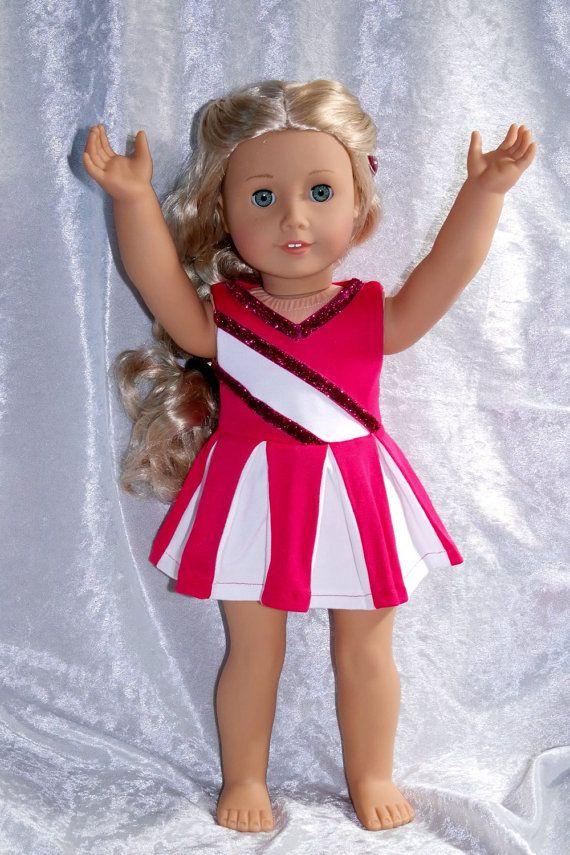 American Girl Cheerleader Costume by AnnalisesArmoire on Etsy