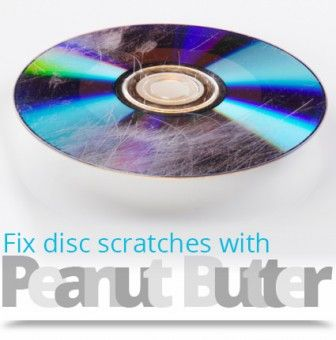 Fix a Scratched CD or DVD with Peanut Butter