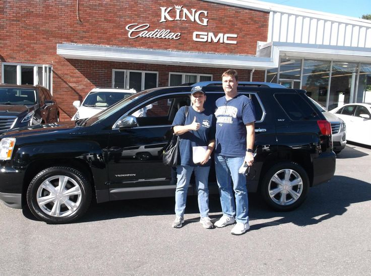 Congratulations, Penny & David, on buying your new 2016 GMC Terrain SLT. Best wishes from Rick Brown and all of us here at King Cadillac GMC!