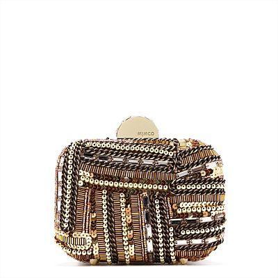 #Mimco #Handbags - Klimptomaniac Hardcase in Gold - $229