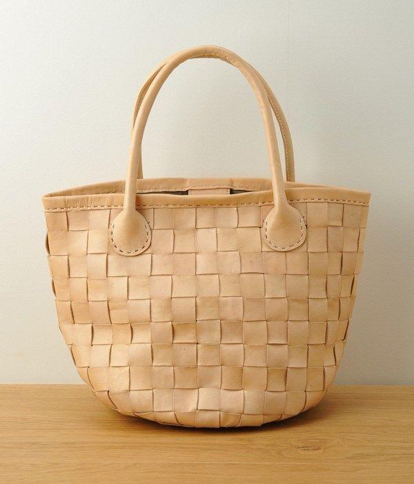 【kyuca】mesh basket(A・クリーム)