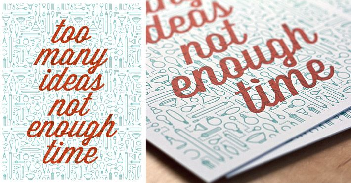 Too Many Ideas Not Enough Time - Beautiful cards by Fifty Five Hi's