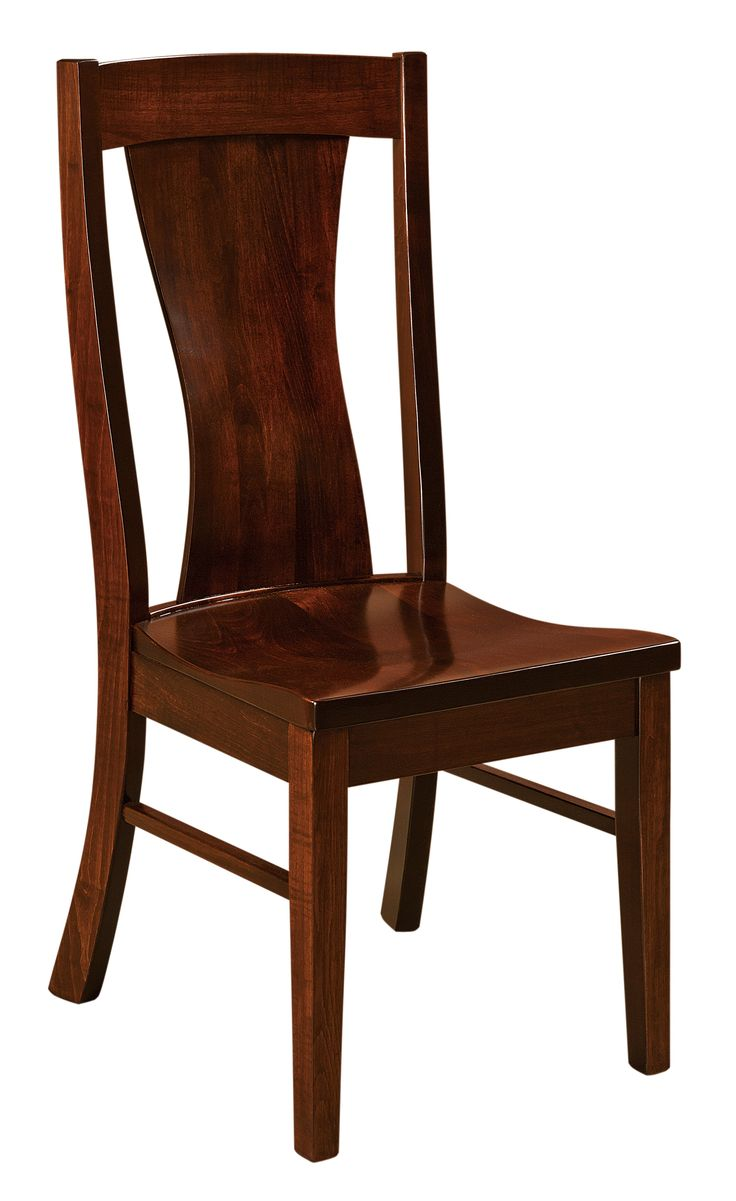 Gallery pictures for good quality dining chairs carson armchair amish - The Westin Dining Chair Is Shown In Brown Maple With A Rich Tobacco Stain