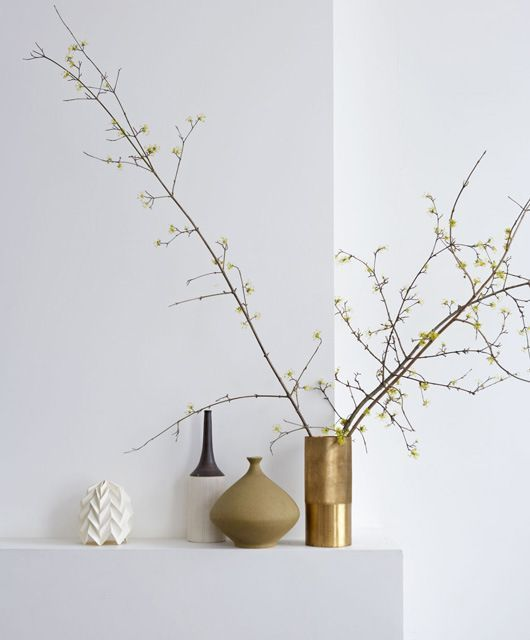 Gold vessels, branches . . . simple and clean