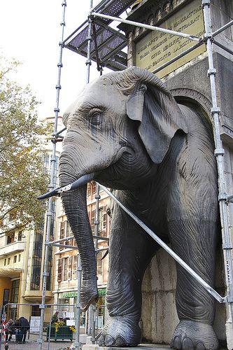 Fontain des Eléphants - Chambery