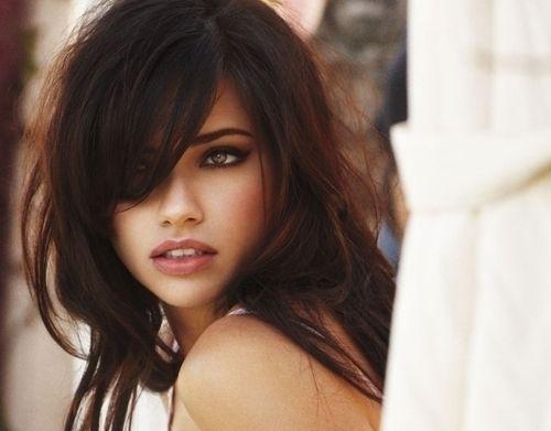 gorgeous brunettes | beautiful, brunette, girl, hair ...