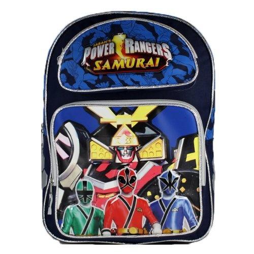 Power Rangers Samurai 16inch Backpack Large school « Clothing Impulse