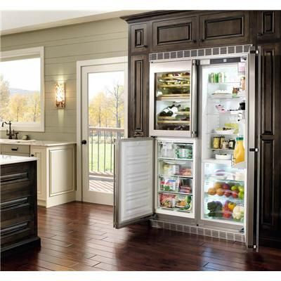 Liebherr Refrigerator... a great fridge for seeing all your items.