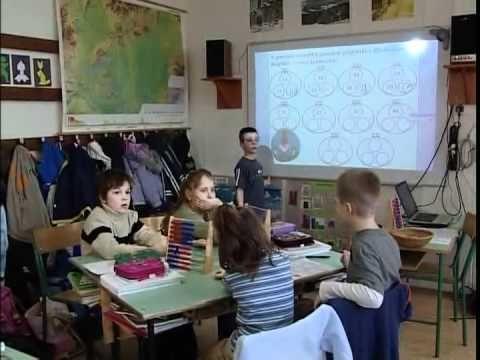 Számolás 100-as számkörben -- 2. osztály -- 100 bontása három részre…