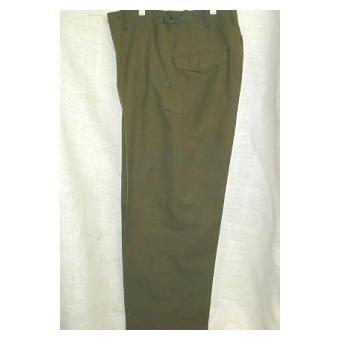 $20 Army Navy Surplus 100% Wool Korean War-Era Field Pants   Army Navy Sales