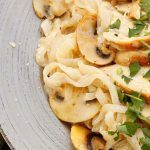 Creamy Chicken Alfredo with Mushrooms