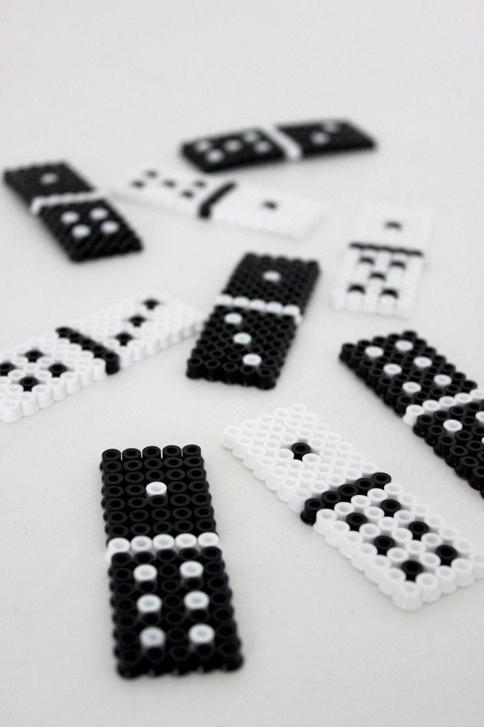 DIY Hama Perler Domino