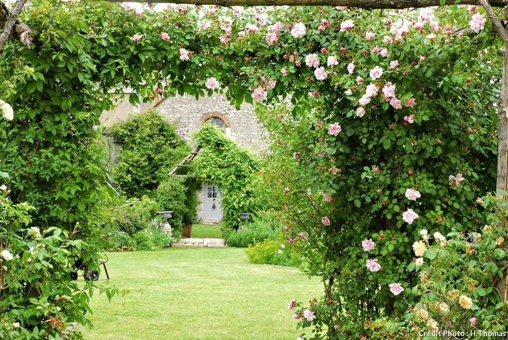 Les 25 meilleures id es concernant treillage de rose sur for Le jardin de plaisance 87