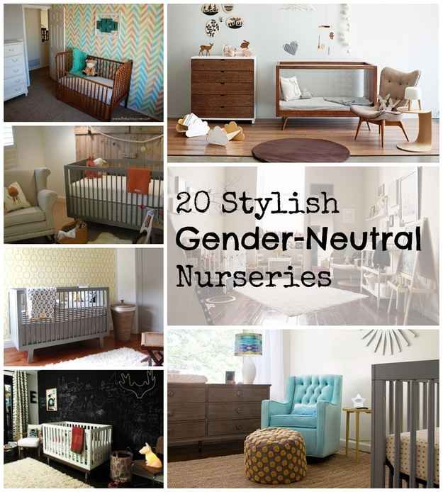 20 Stylish Gender-Neutral Nurseries, really loving the ideas from 4 and 12