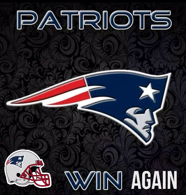 #Patriots Win Again!!!!