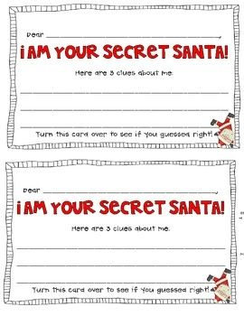 secret santa in the classroom | Secret Santa {A Classroom Community-Building Activity} | christmas