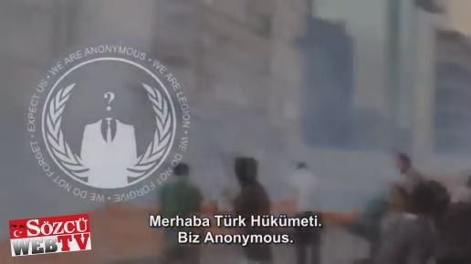Anonymous'dan AKP manifestosu