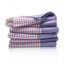 Soft Cotton Twill Check Dusters (pack of 6)