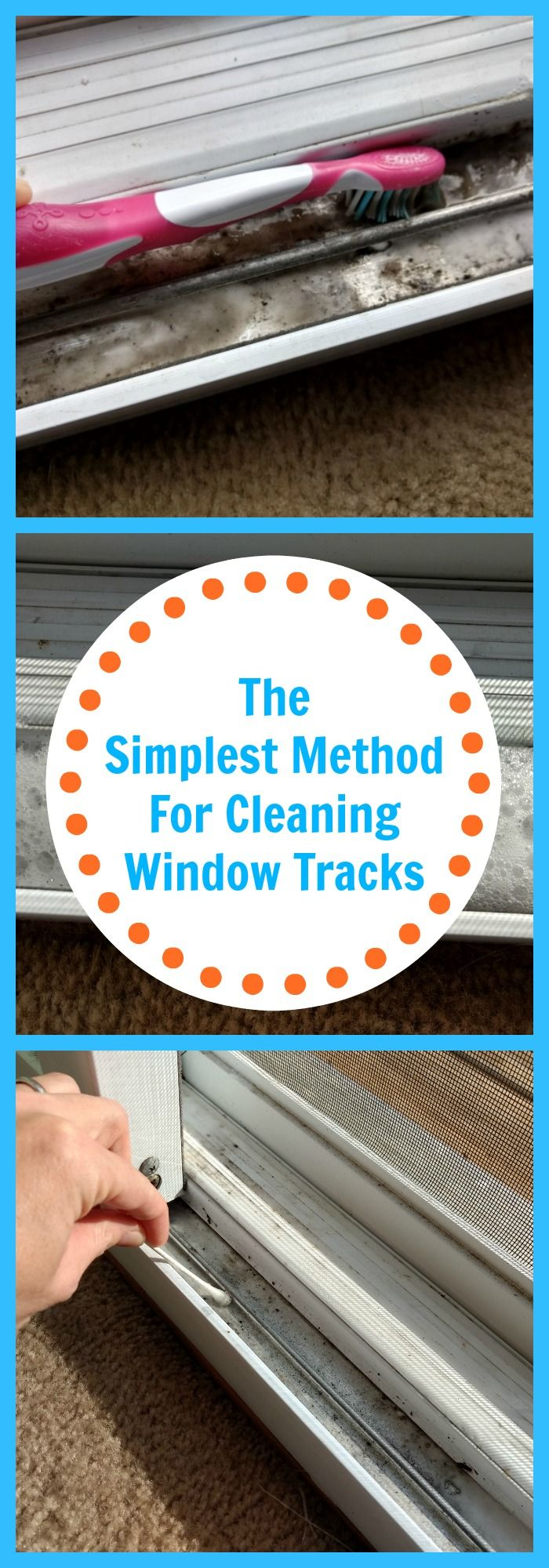 The Simplest Method For Cleaning Window Tracks