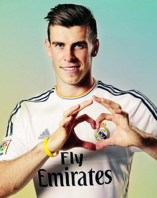 Gareth Bale. Real Madrid. HALA Madrid! Most expensive transfer to Real Madrid, Oiiiiiiiihh!