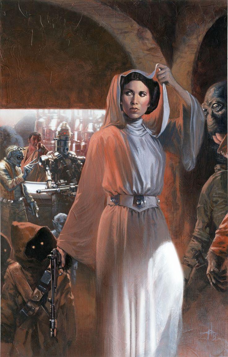 Princess Leia by Gabriele Dell'Otto