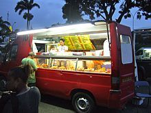 Chinese-food truck in Nouméa, New Caledonia...