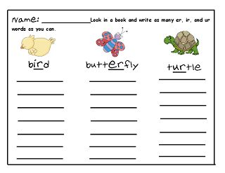 Worksheets Ir Words Phonics 17 images about wtw on pinterest hunts long vowels and spelling homework