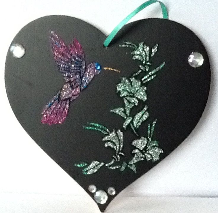 Now this is REALLY special Get your very own humming bird heart for your dearest friends and family when you visit us athttps://www.susanannecardsproduct/humming-bird-hearttoday../ Colourful, exciting and unique, this will look great hanging on their bedroom door or kitchen wall. Please follow and like us: