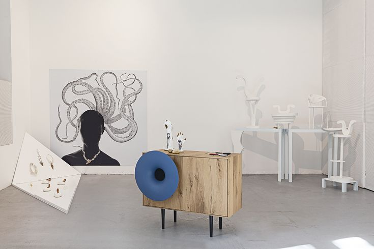Caruso cabinet for Ironically Iconic exhibition   #design #exhibition #interior