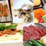 A selection of five meals from the 12 available in the meal plan. #mealplan #planeatplay www.planeatplay.com