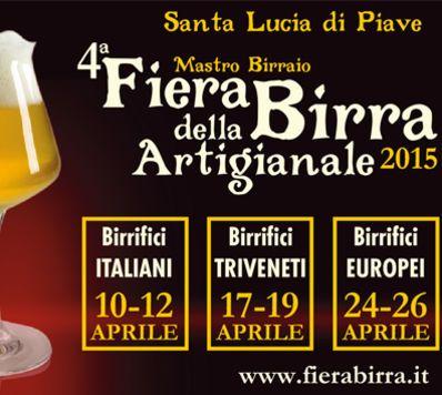 Fiera della Birra Artigianale - Santa Lucia di Piave (TV) - dal 10 al 26 aprile 2015