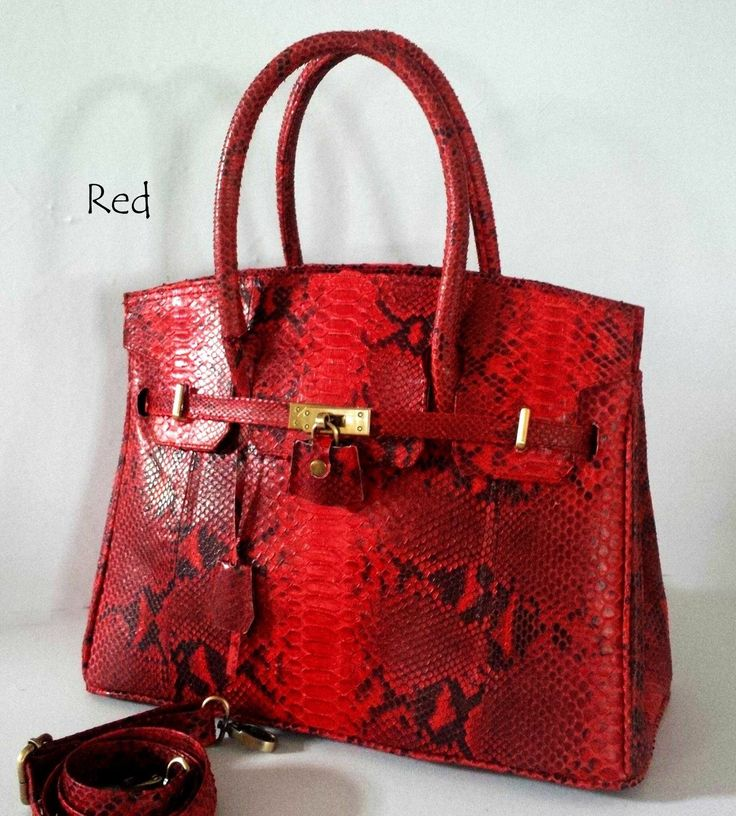 Red python skin ... Check on Facebook Balinesian ethnic purses. Inbox me to order