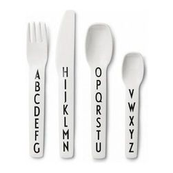Design Letters Kids Cutlery Set