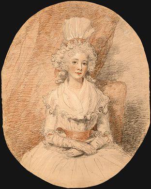 Miss Frances Beresford by John Hoppner, 1784.