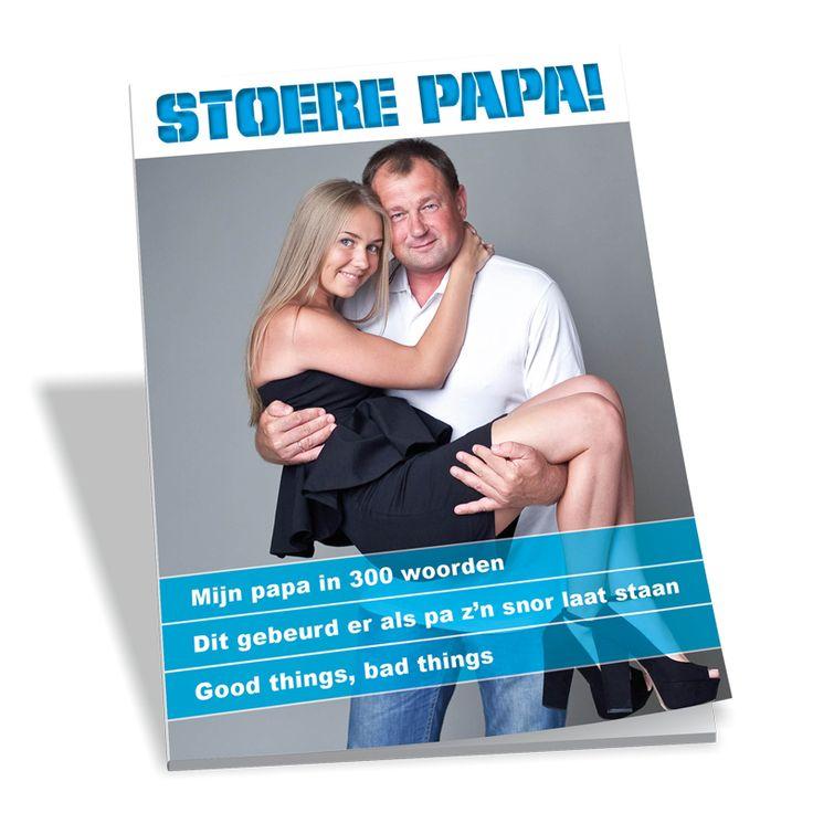 Leuk idee voor volgend jaar! Een magazine als vaderdagscadeau.